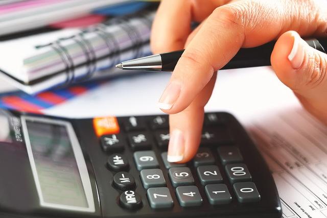 Калькулятор, бухгалтерия, налоги