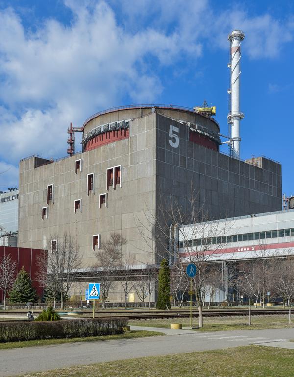 Энергоблок Запорожской атомной электростанции